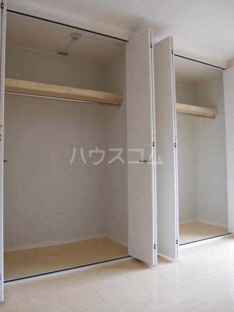 ファインステージ鴻巣 205号室の収納