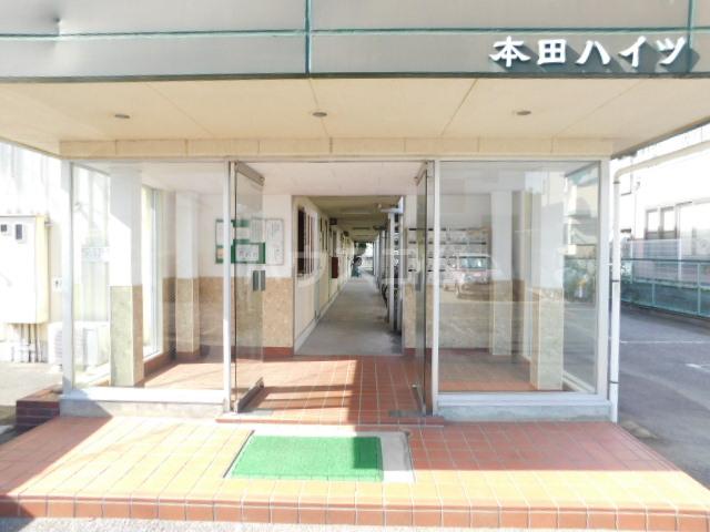 本田ハイツ 102号室のエントランス