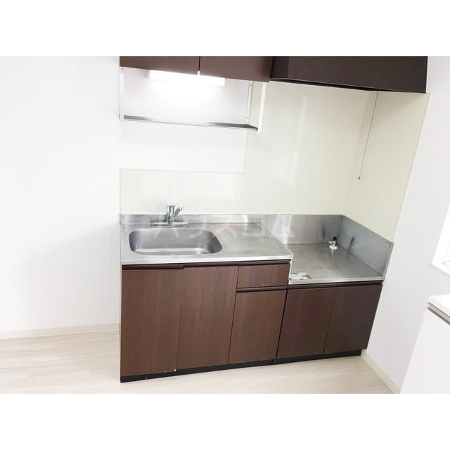 ドミール2号棟 202号室のキッチン
