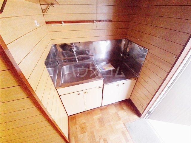 ミキハイツ 2A号室のキッチン