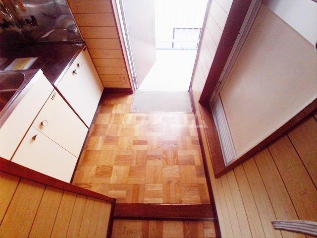 ミキハイツ 2A号室の玄関