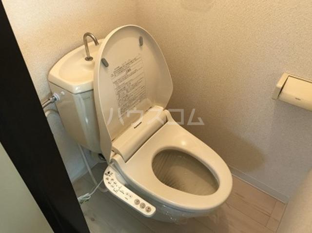 ハイツK A202号室のトイレ