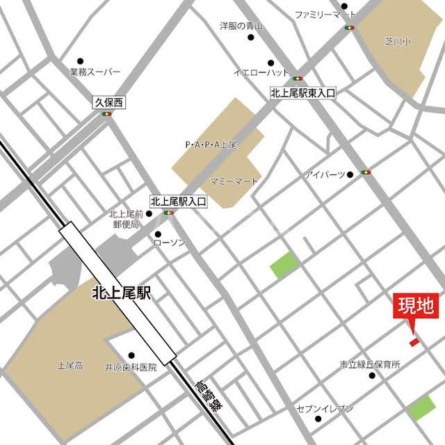 ハイツK A202号室の地図