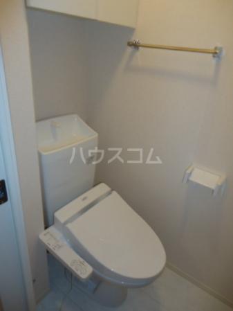 Sereno・HALU A-203号室のトイレ