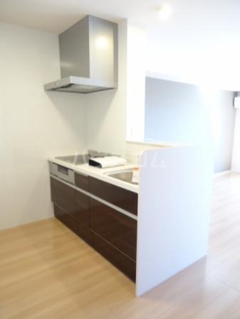 Sereno・HALU A-203号室のキッチン