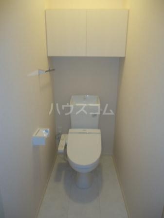 Sereno・HALU B-201号室のトイレ