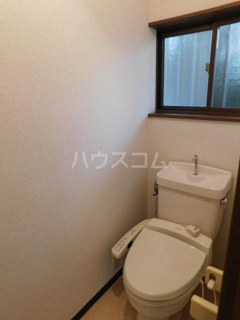 メゾン・イデウラA 202号室のトイレ