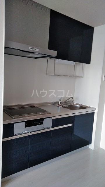 メテオール 102号室のキッチン