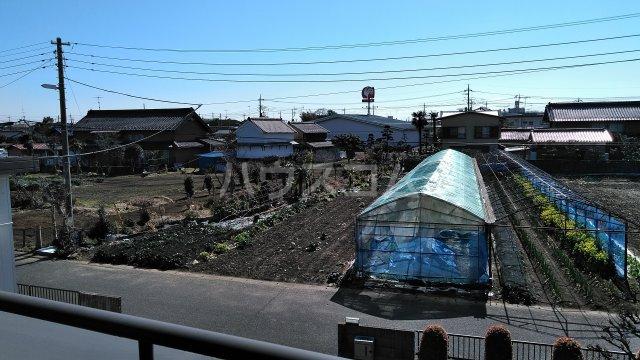 菖蒲町倉庫付き貸家の景色