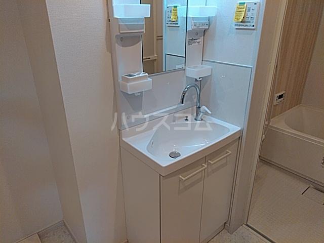 シルクロード原市 103号室の洗面所