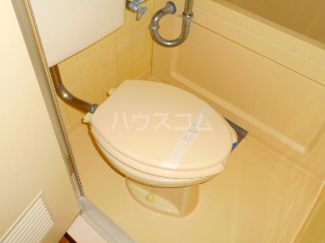 スカイコート三鷹 107号室のトイレ
