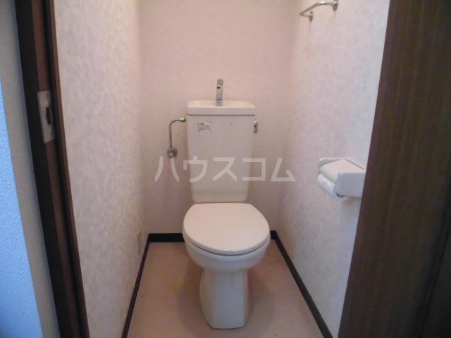 SYLPH・K 405号室のトイレ