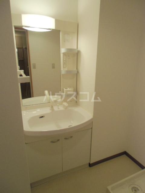 グランストーク波音 202号室の洗面所