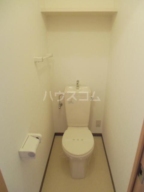 グランストーク波音 202号室のトイレ