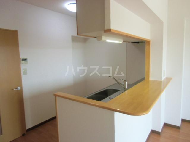 グランストーク波音 202号室のキッチン