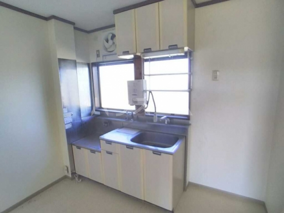トレンディ 102号室のキッチン