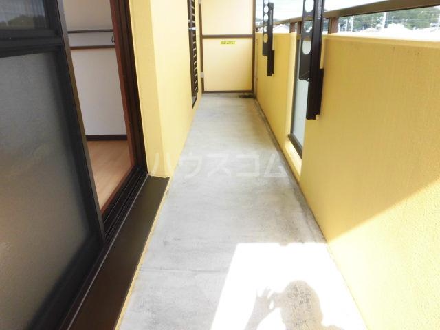 リフレ 103号室のバルコニー