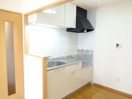 エヴァーグリーン 102号室のキッチン
