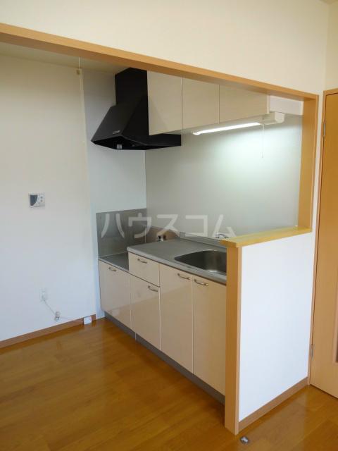 エヴァーグリーン 201号室のキッチン
