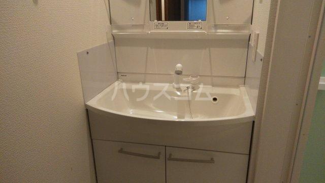 大塚八番館 201号室の洗面所