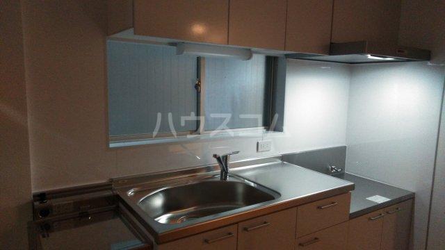 大塚八番館 201号室のキッチン