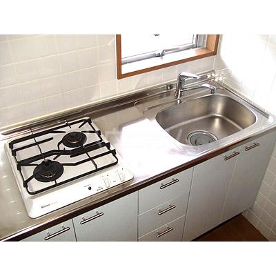 ニューロング博多 502号室のキッチン