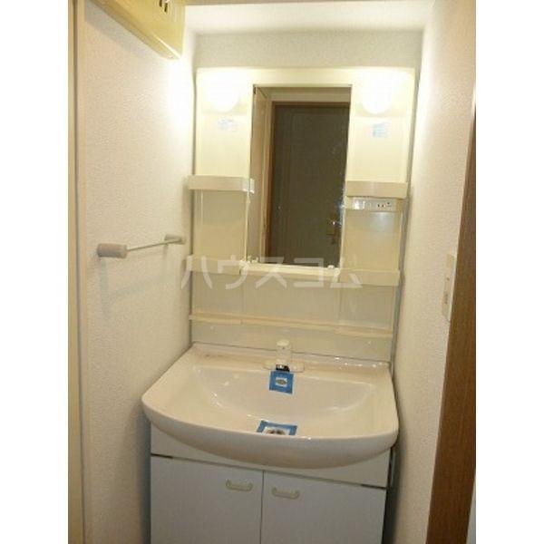 ニューロング博多 502号室の洗面所