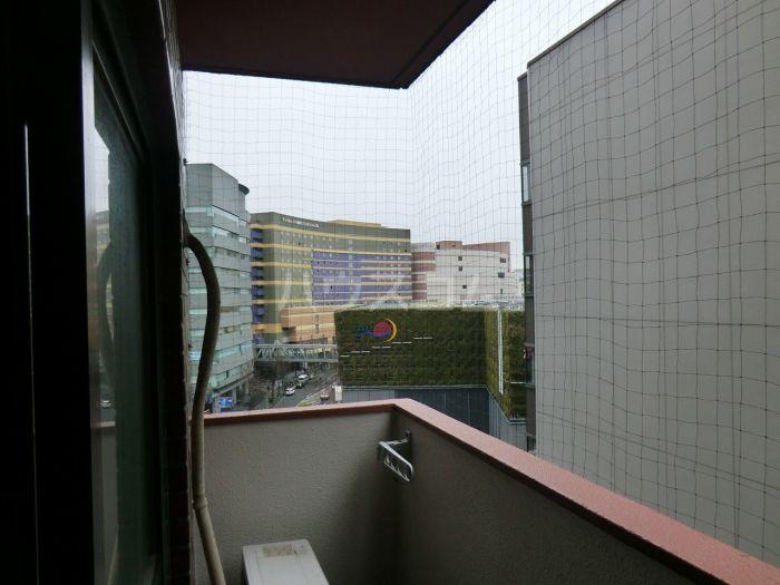 ライオンズマンション博多 801号室のバルコニー