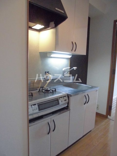 ルミノスコート 501号室のキッチン