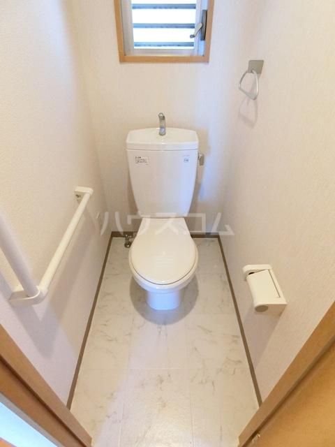 グラントープ道頓堀 204号室のトイレ