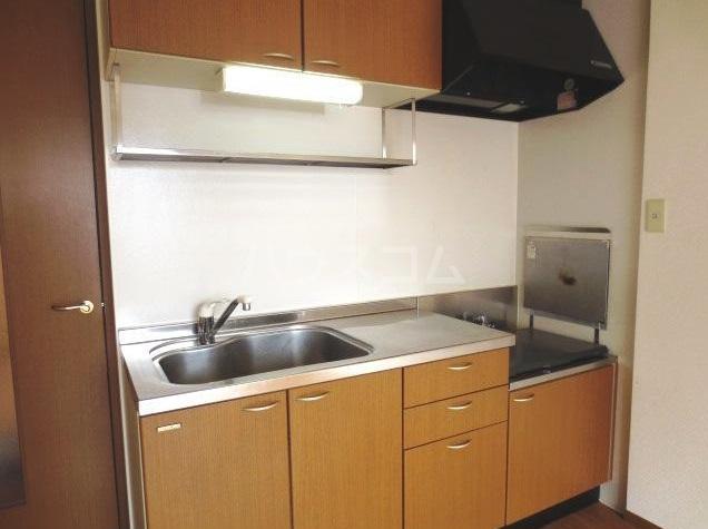 サンクアンセスタ 201号室のキッチン