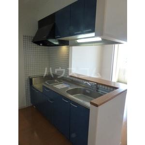 セゾンドール貝塚 1307号室のキッチン