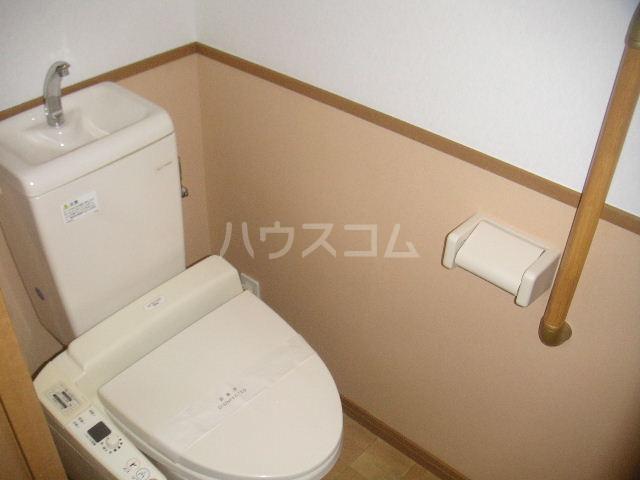 アルバ空港東 202号室のトイレ