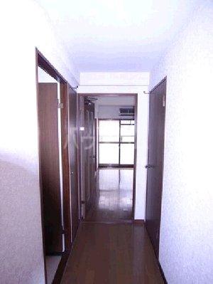 ロフティ箱崎 303号室の玄関