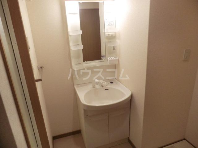 ボンシャンス 207号室の洗面所