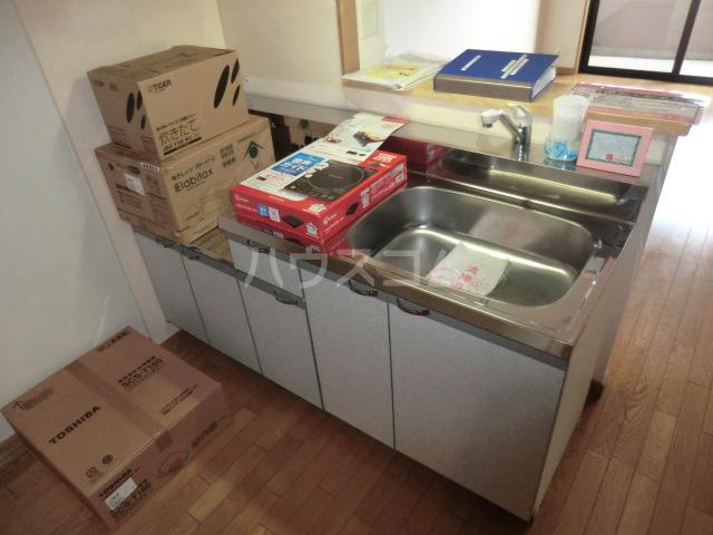 ボンシャンス 207号室のキッチン