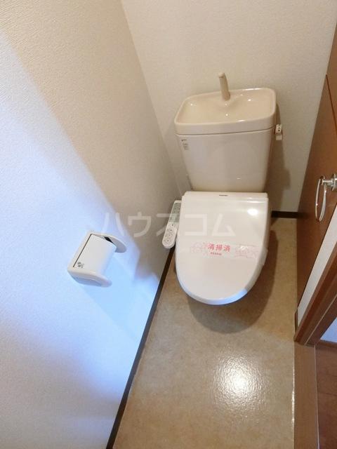ゼロマクト 403号室のトイレ