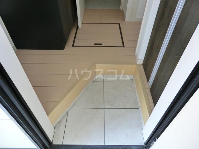 メゾン・ド・レスポアール 201号室の玄関