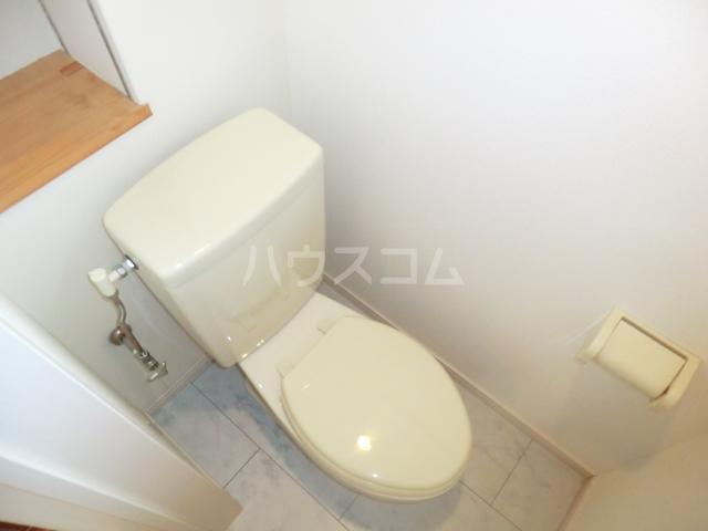 メゾン・ド・レスポアール 201号室のトイレ