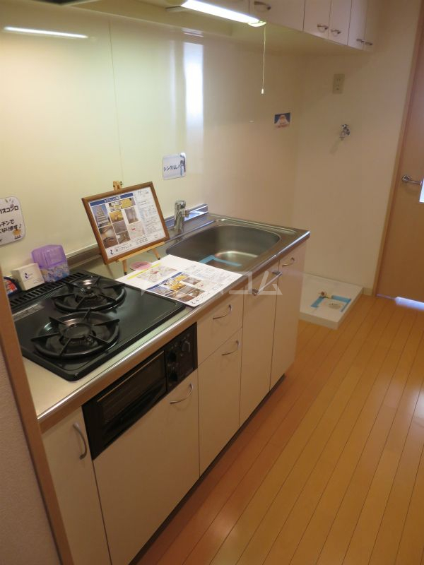 リファレンス祇園 1304号室のキッチン