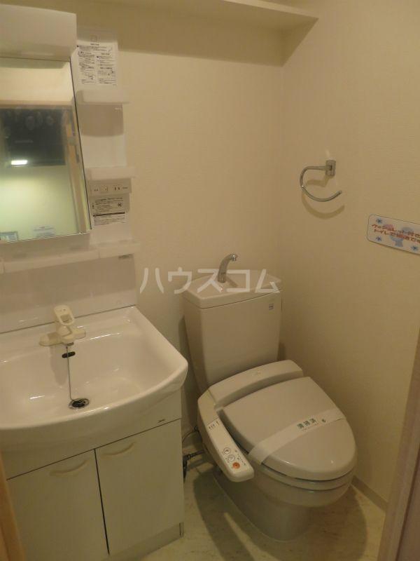 リファレンス祇園 1304号室のトイレ