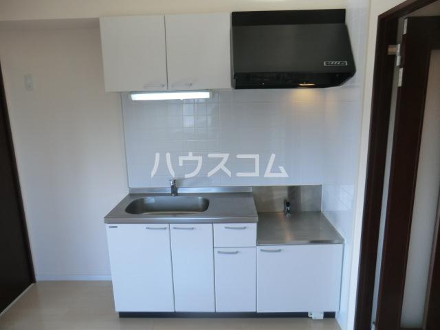 グロースイースト 406号室のキッチン