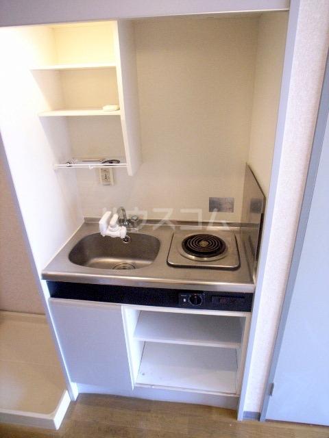 ダイナコート箱崎Ⅱ 602号室のキッチン