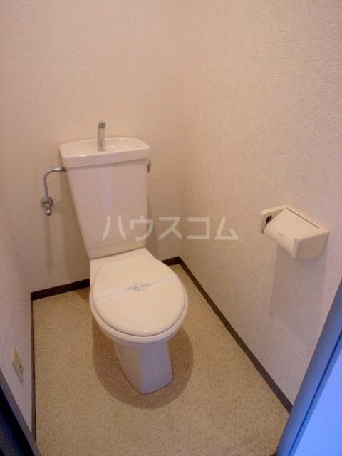 ダイナコート箱崎Ⅱ 602号室のトイレ
