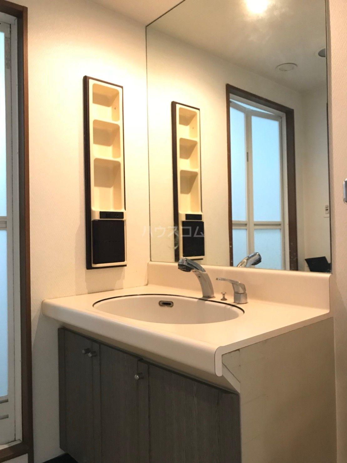ロマネスク箱崎タワーホームズ E402号室の洗面所