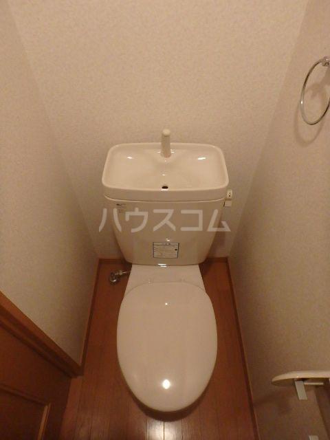 恵比須千早ビル 201号室のトイレ