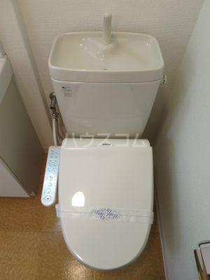 リファレンス博多駅前 1101号室のトイレ