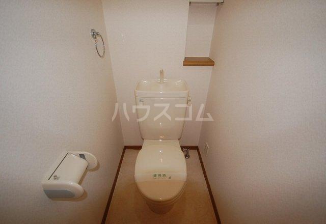 ライフステーション柚須 601号室のトイレ