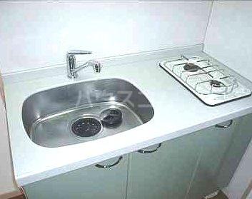 ジェイド博多 801号室のキッチン