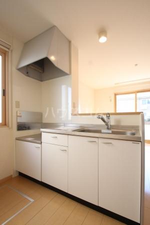 グランコート南里 A A101号室のキッチン